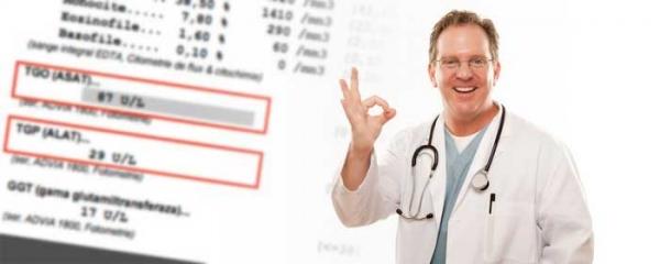 Blood Test Report :: YHK improves ALT level and liver function for hepatitis C cirrhosis patient