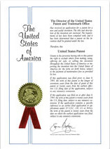 U.S. patent of invention - YHK